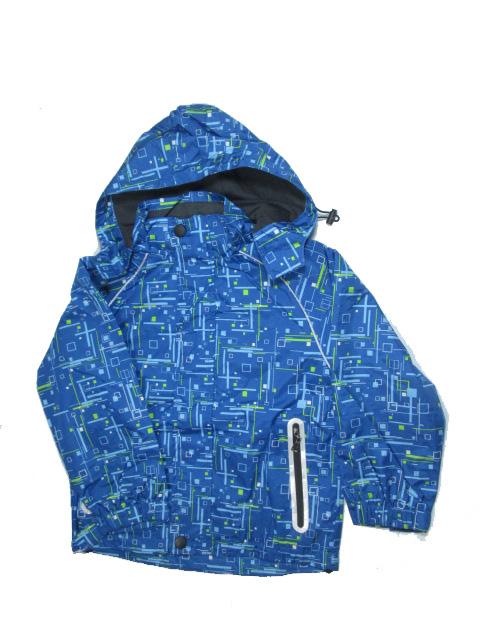 vel.116,128-Chlapecká letní/jarní bunda KUGO - modrá barva