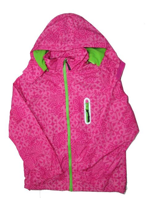 vel.146-164--Dívčí podzimní/jarní bunda - tm.růžová barva