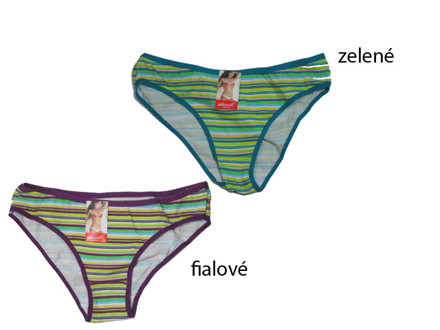vel.XXL-Dámské spodní kalhotky - klasické ELEVEK