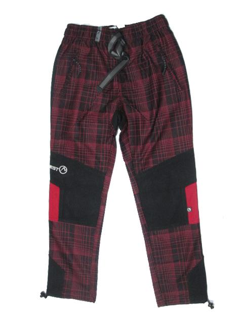 vel.98-Dětské kalhoty Neverest - červená barva