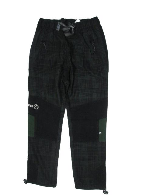vel.98-Dětské kalhoty Neverest - černo-khaki