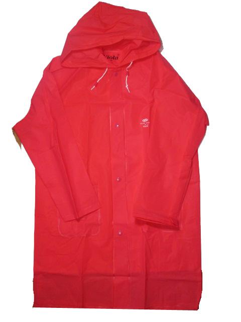 vel.150-Dětská pláštěnka VIOLA 5503PE- červeno-oranžová