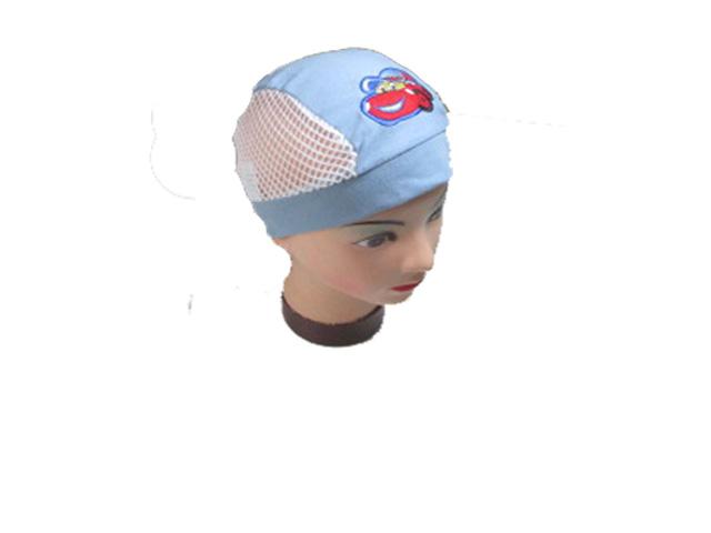 UNI (2-8 let)-Chlapecká pirátka s autem - modrá barva (odstín sv.modré)