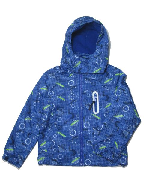 vel.,110-116,122-128-Chlapecká podzimní/jarní bunda - barva modrá