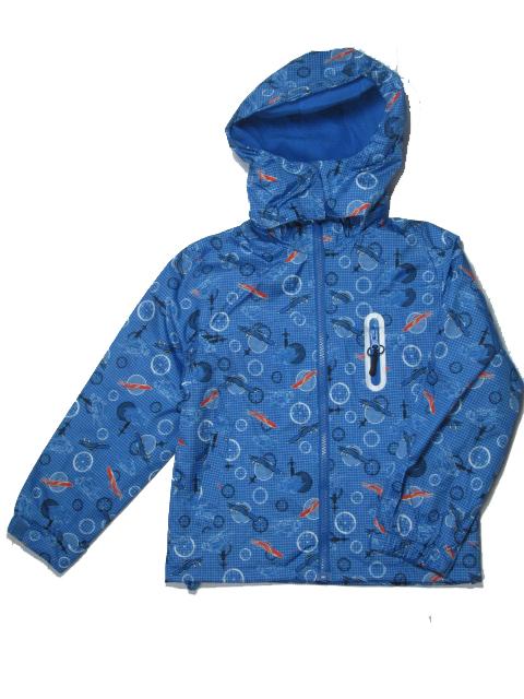 vel.104-110-Chlapecká podzimní/jarní bunda - barva tm.modrá
