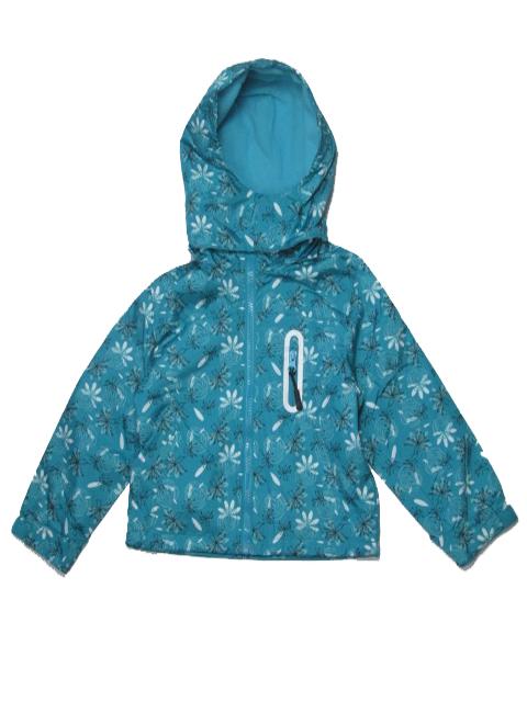 vel.92-116-Dívčí podzimní/jarní bunda - barva zelená