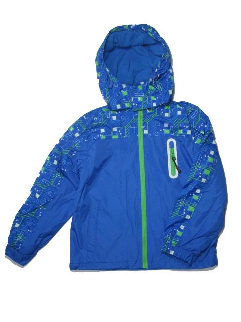 vel.134-140-Chlapecká podzimní/jarní bunda - barva modrá