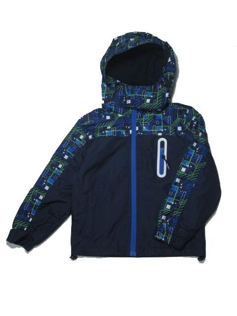 104-110,122-128,140-146-Chlapecká podzimní/jarní bunda - barva tm.modrá