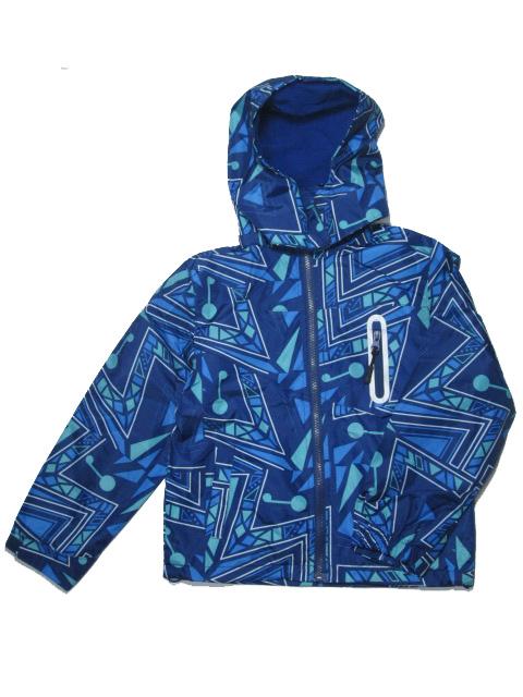 vel.110-140-Chlapecká podzimní/jarní bunda - barva modrá
