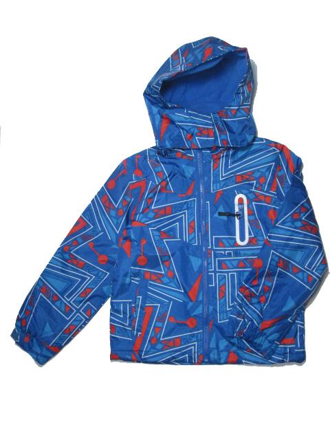 vel.110-140-Chlapecká podzimní/jarní bunda - barva modro-oranžová