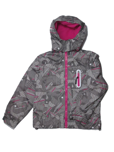 vel.110-128-Dívčí podzimní/jarní bunda - barva šedá
