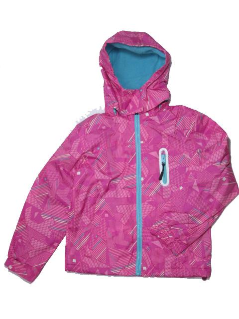 vel.116-122-Dívčí podzimní/jarní bunda - barva růžová