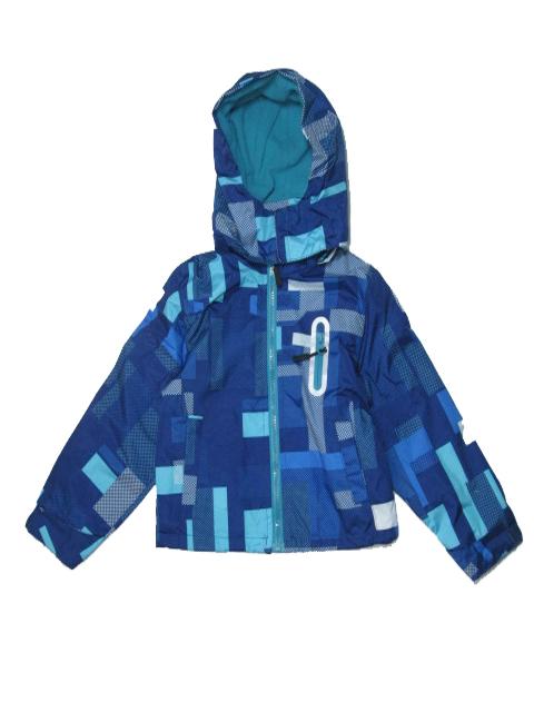 98-104-Chlapecká podzimní/jarní bunda - barva modrá