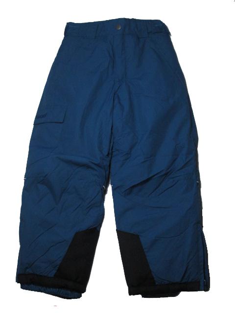 vel.122-Lyžařské zateplené kalhoty - WOLF - petrolejová barva