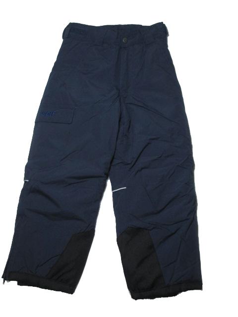 vel.110,122-Lyžařské zateplené kalhoty - WOLF - tm.modrá barva