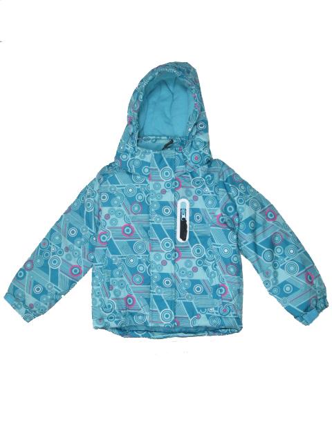 vel.98-104-Dívčí zimní bunda Monellina - barva zelená