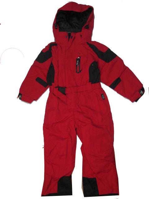 vel.98-122-Dívčí zimní kombinéza YDI - barva červená