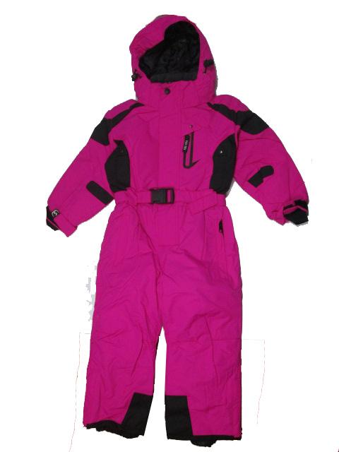 vel.98-104,116-122-Dívčí zimní kombinéza YDI - barva růžová