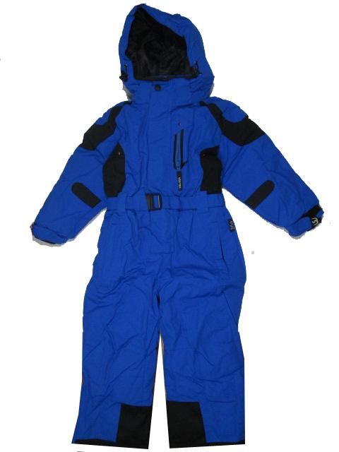vel.110-116-Chlapecká zimní kombinéza YDI - barva modrá