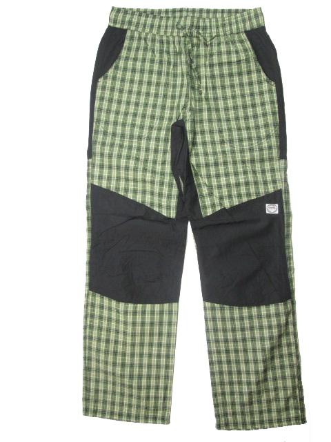 98-Dětské zateplené kalhoty Neverest - zelená barva