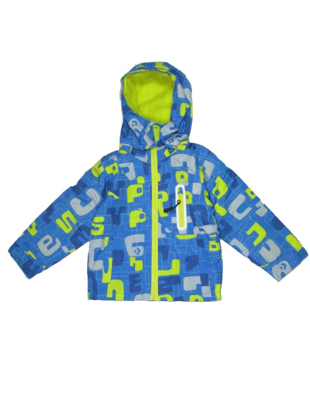 vel.86-92,98-104,110-116-Chlapecká podzimní/jarní bunda - barva modro-žlutá