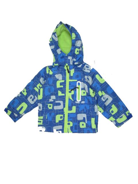 vel.80-92-Chlapecká podzimní/jarní bunda - barva modro-zelená