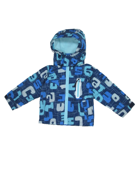 vel.80-86,92-98,98-104-Chlapecká podzimní/jarní bunda - barva modrá