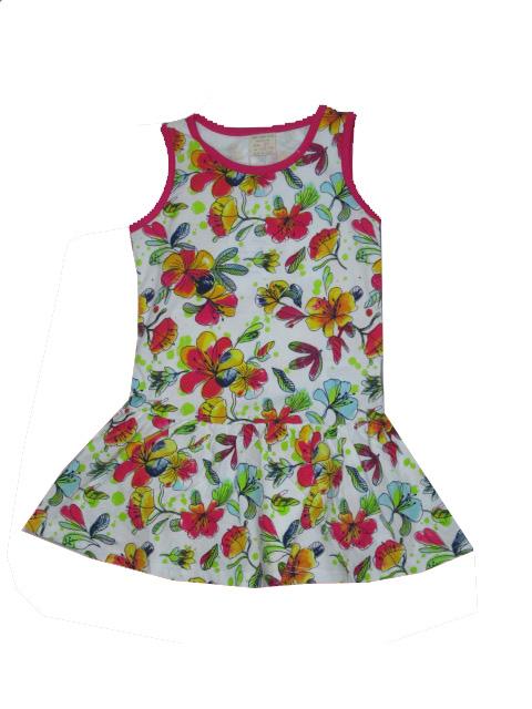 vel.98-110-Dívčí letní šaty Hold Hands