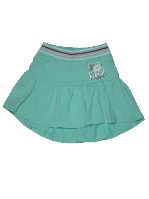 vel.110-152-Dívčí sukně Monellina - zelená barva