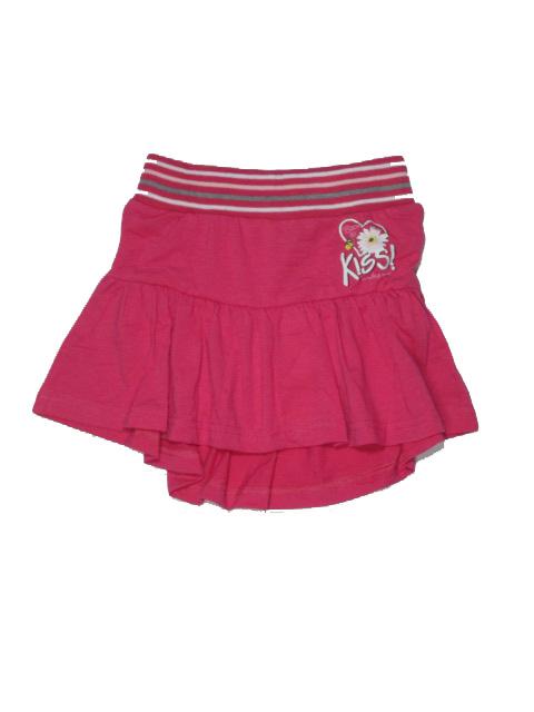 vel.110-128-Dívčí sukně Monellina - červená barva