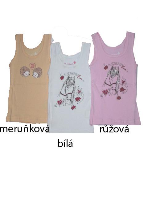 vel.98-116-Dívčí košilka - tílko WOLF