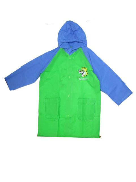 vel.92-134-Dětská pláštěnka VIOLA 5907ZM- zeleno-modrá barva