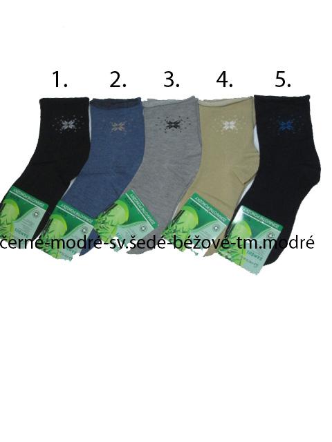 35-38,39-42--Dámské klasické zdravotní bambusové ponožky Pesail