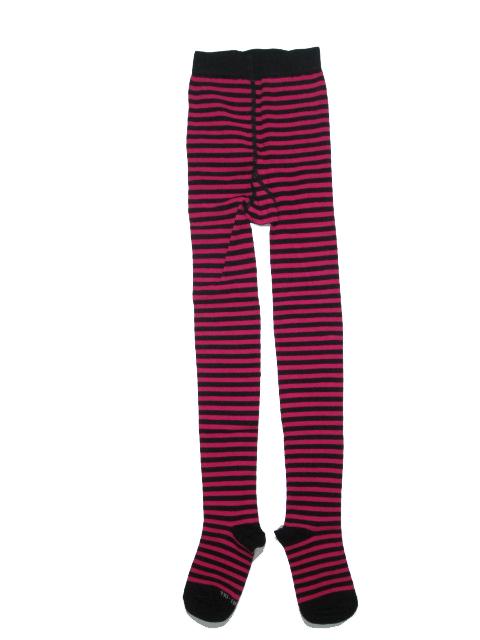 vel. 92-98-Dívčí antibakteriální bambusové punčocháče Trepon - růžová barva