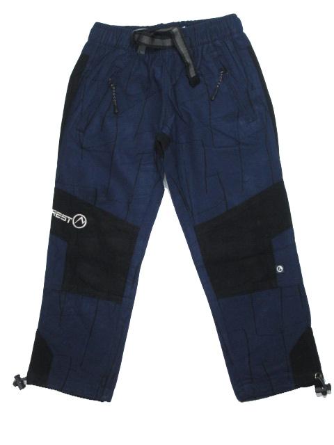 104-Dětské kalhoty Neverest - švestkově-modrá barva
