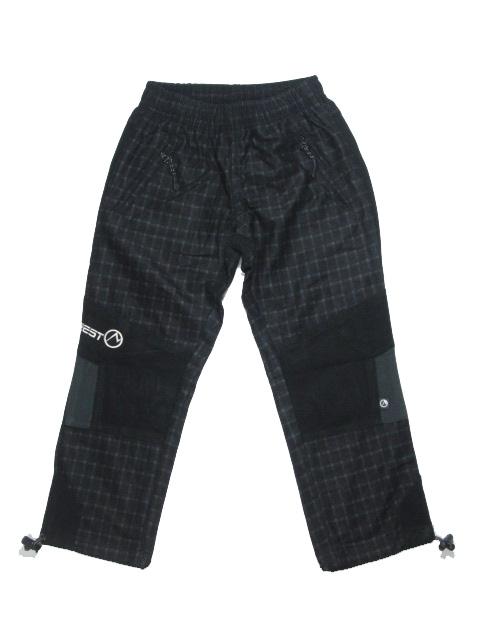 104-Dětské kalhoty Neverest - černá barva
