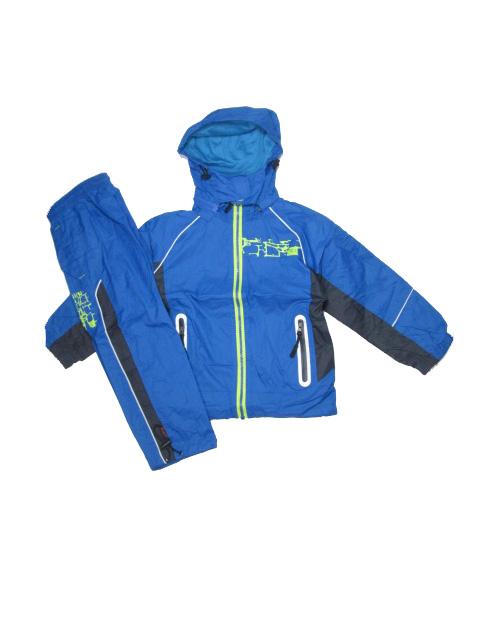98-Sportovní šusťáková souprava KUGO - modrá barva