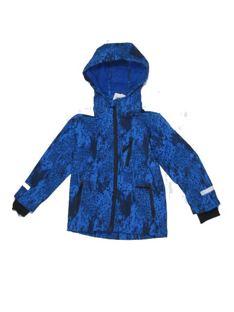 Fotografie Dětská chlapecká softshellová bunda Wolf B2666 Sv. modrá, vel. 110/116