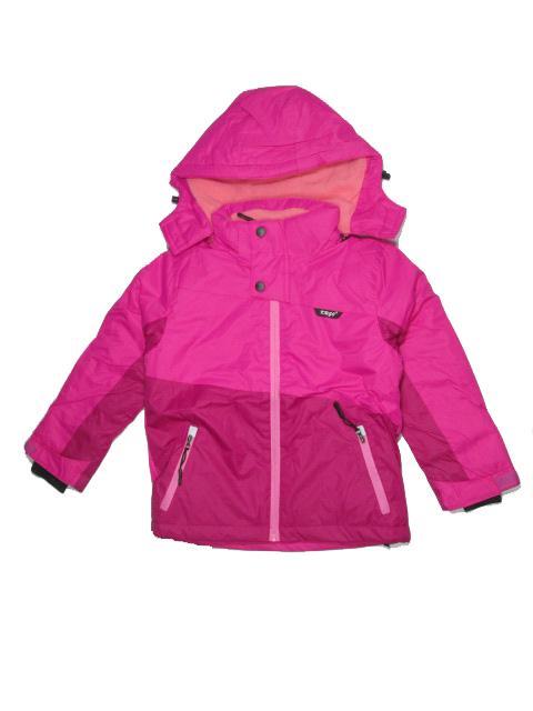110-Dívčí zimní bunda KUGO - růžová barva