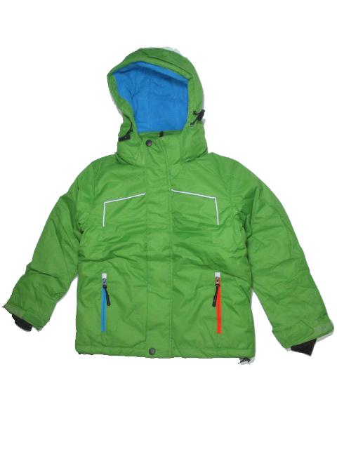 98-128-Chlapecká zimní bunda KUGO - zelená barva