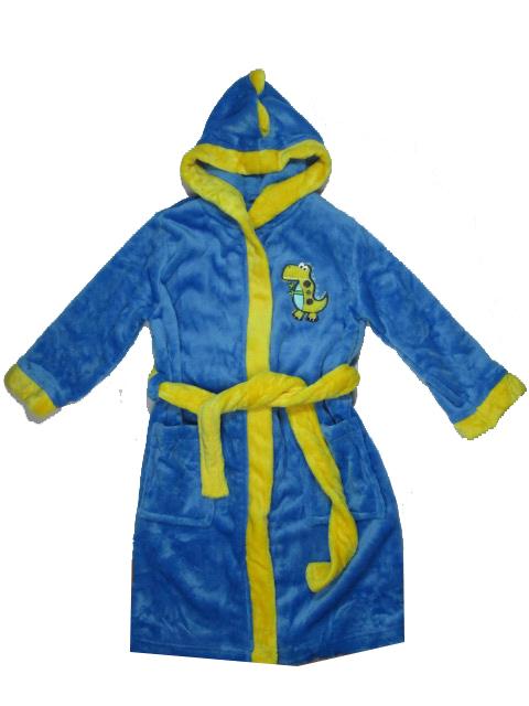 92-98--Chlapecký župan WOLF - modrá barva
