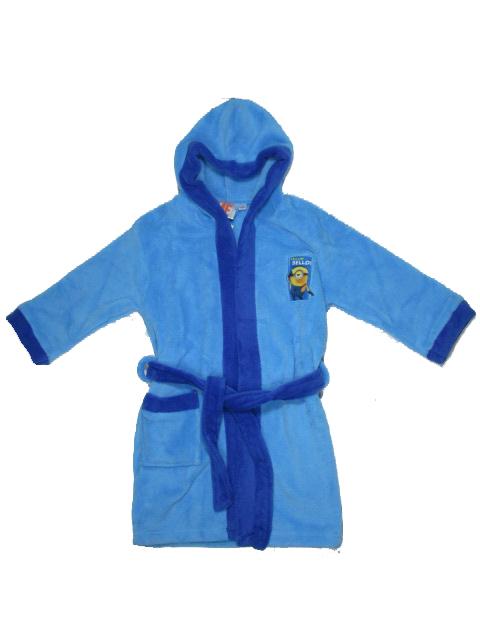 104-116,128-Chlapecký župan Minions - modrá barva