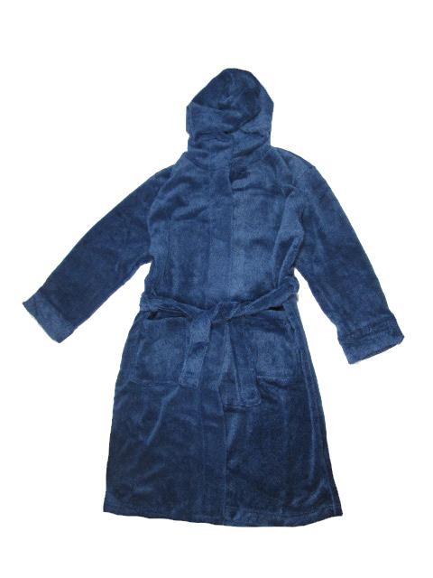 vel.128-134-Chlapecký župan WOLF - modrá barva