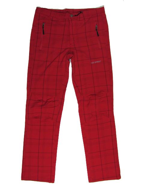 2XL-Dámské outdoorové kalhoty Neverest - červená barva