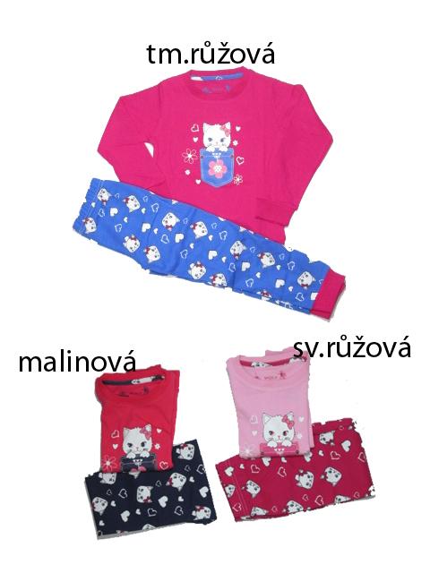 104,110,116-Dívčí pyžamo WOLF