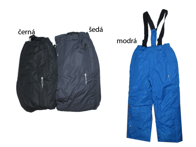 146-152-Lyžařské zateplené kalhoty Glo-Story