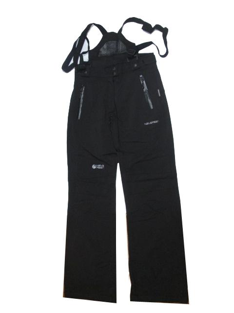 3XL-černé-Dámské sportovní softshellové kalhoty s kšandami NEverest