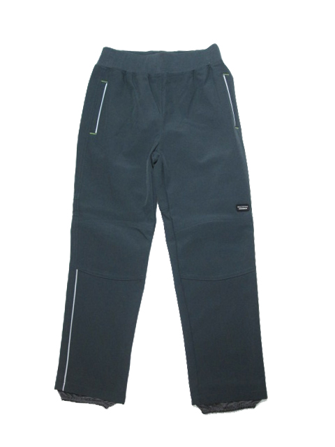 128-146-Chlapecké softshellové kalhoty WOLF (bez fleesu) - šedá barva