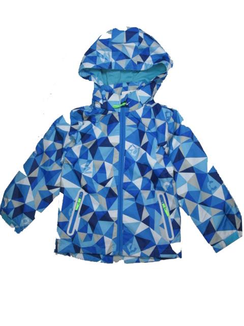 110-Dětská letní/jarní bunda KUGO - tyrkysová barva