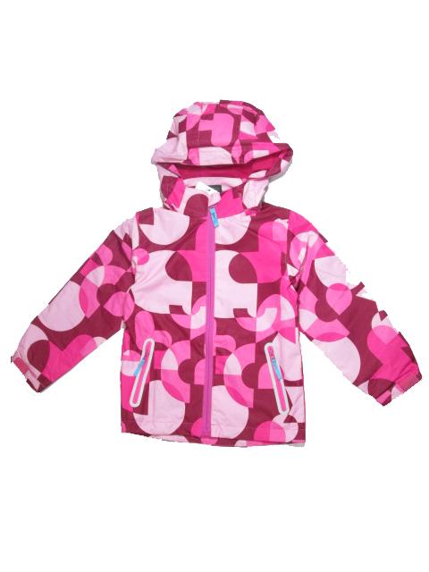 128-Dívčí letní/jarní bunda KUGO - růžová barva